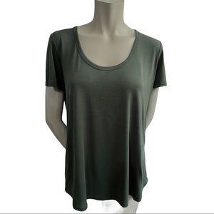 Aritzia Wilfred Free Valmere Green T-shirt Size M